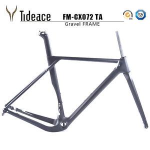 T800-Cycling-Carbon-Fiber-Gravel-Bicycle-Frames-Cyclocross-Bike-Frameset-BB386