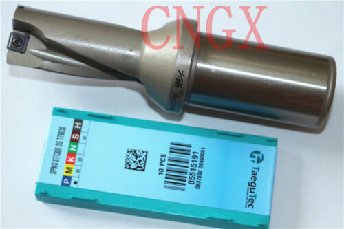 1P C25-3D23-72SP07 U drill// indexable drill 23mm-3D with+2PCS SPMG07T308