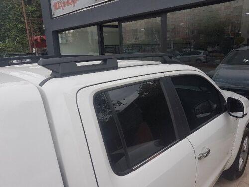 barra transversal no incluido Fiat de zaguero Negro Barras De Techo Barra Techo 2015 en adelante