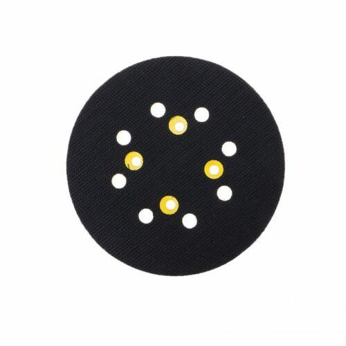"5/"" 125 MM 8-Hole Back-up Sanding Pad 4 Nails Hook and Loop Sander Backing Pad"