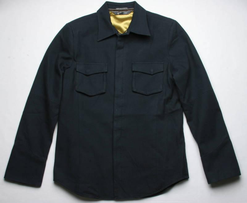 Hause of Howe Fist To Cuff Woven Blazer (M) Dark Navy