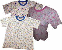 Adult Size Baby Shirts With Easy Dressing Snap Shoulder