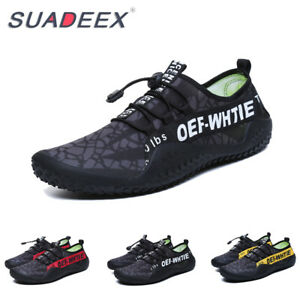 Mens Aqua Beach Swimming Surf Pool Barefoot Wetsuit Sandals Water Sports Shoes