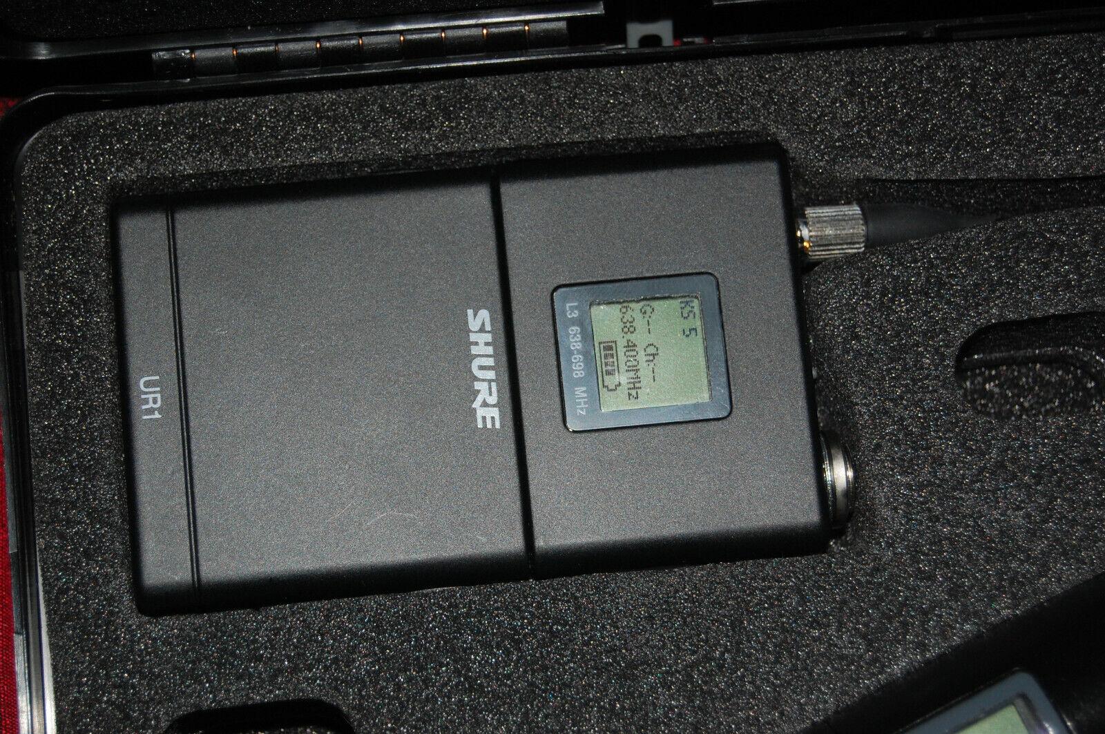 Shure UR1-L3 Körper Packung Transmitter