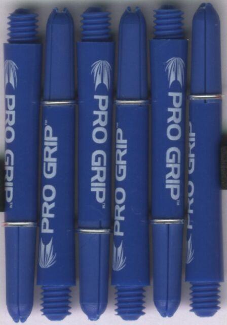 1 set of 3 2in 2ba Blue TARGET Pro Grip Dart Shafts /& Springs