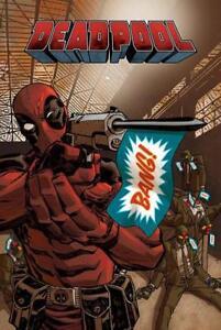 Hochformat 61 x 91,5 cm lustiges Marvel Comics Plakat Deadpool Poster Bang