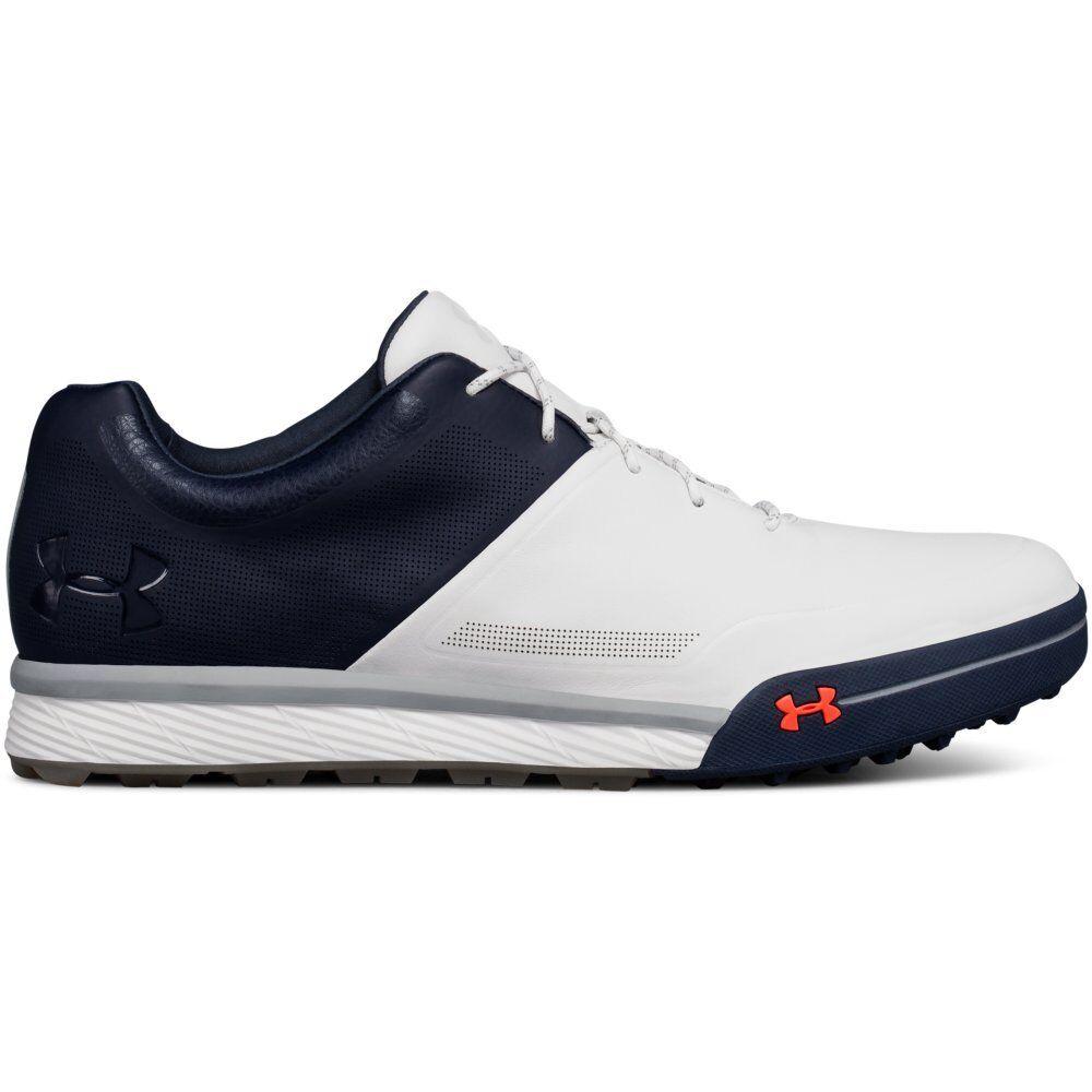39654edcd79 Under Armour 2018 Men s UA Tempo Hybrid 2 Golf Shoes White academy ...