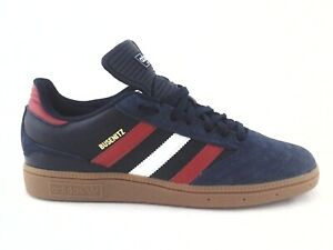 ADIDAS-Busenitz-Skate-Shoes-Navy-Suede-Red-White-w-Gum-Soles-FV5876-Men-039-s-NEW