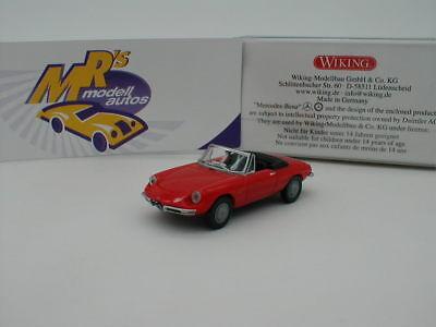 weiß Wiking 020602-1//87 Alfa Spider Neu