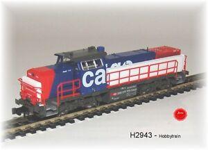 Hobbytrain-2943-Locomotive-diesel-Am843-G1700-SBB-Cargo