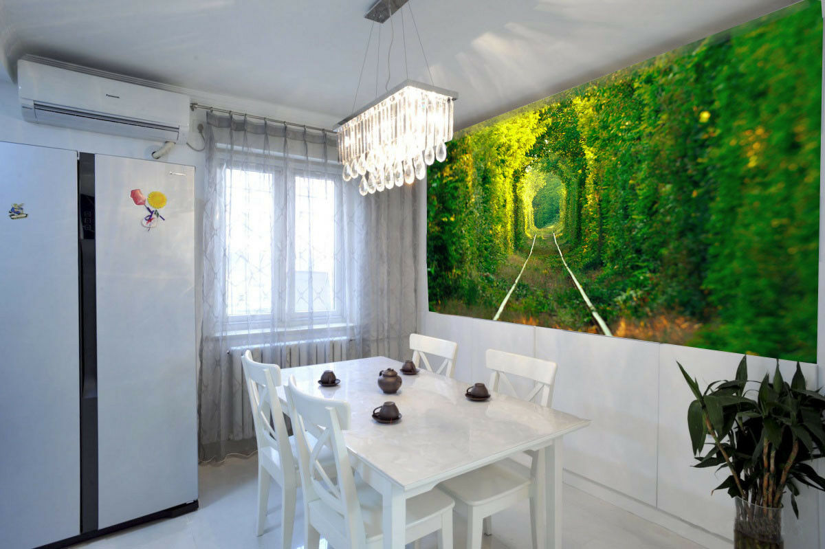 3d Bushes Train Lane 73 wandpaper Mural wandpaper wandpaper Picture Family De Lemon