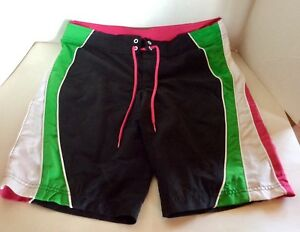 Details about New Women s Junior s LiLu Board shorts Size 9 from Pacsun  White Black Capri Swim ee57ea0b4