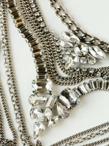 Free People X Lisa Freede Kingsley Crystal Collar necklace $198 MSRP