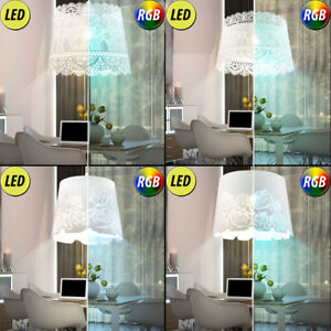 Lampes-LED-a-pendule-fleurs-RGB-telecommandes-de-salon-a-telecommande-dimmable