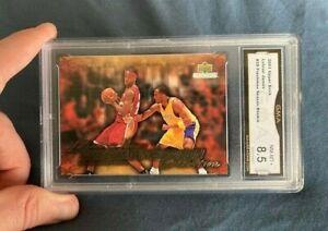 2003 2004 Lebron James Rookie #39 Freshman Season Kobe Bryant GMA 8.5 (PSA, SGC)