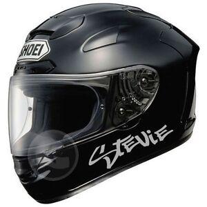 X PERSONALISED MOTORBIKE NAME STICKERS HELMET NAME MOTORCYCLE - Motorcycle helmet designs stickers