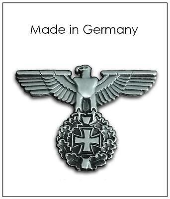 WWII German officer Cap eagle Badge Parts Insignia Metal