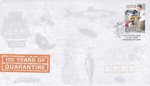 AFD234-Australia-2008-100-Years-Of-Quarantine-FDC