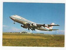 Korean Airlines Boeing 747-200B Aviation Postcard, A824