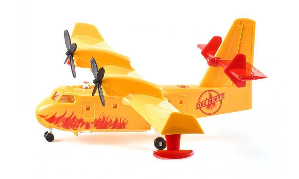 NEW SIKU SUPER 1793 Yellow Fire Fighting Plane 1 87 Die Cast Model