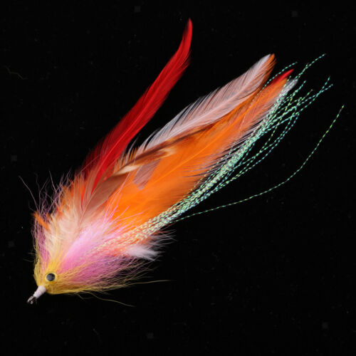 3 V Fly Size 8 Ultimate Nordic Gold Cascade Treble Salmon Flies