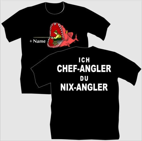 Pescatore Shirt pescatore T-shirt capo pescatore regalo di compleanno bambini A PESCA MAGLIETTA 99