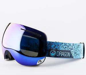 NEW Dragon X1 Goggles-Stone bluee-Dark Smoke bluee+Bonus-SAME DAY SHIPPING