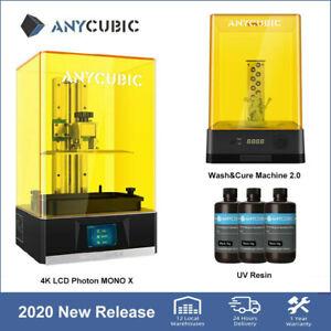 ANYCUBIC 4K LCD Imprimante 3D Photon Mono X résine || Wash and Cure Machine 2.0