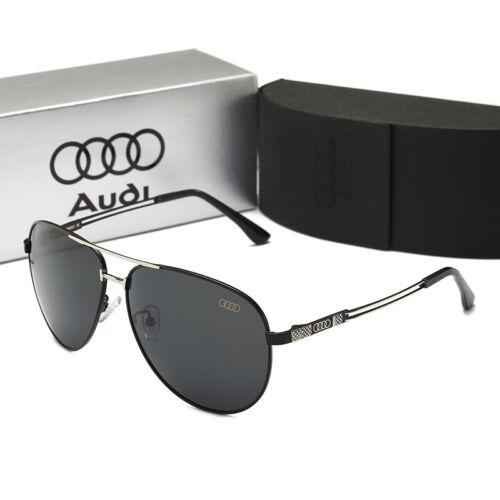 Brand Box New Audi Sunglasses Accessories Car Fashion Designer Outdoor Sports