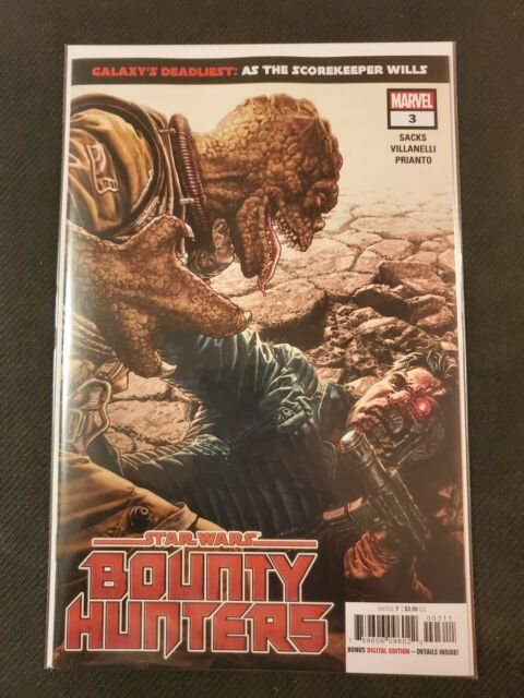 Star Wars Bounty Hunters #3 Sprouse Empire Strikes Variant Marvel Comic 2020 NM