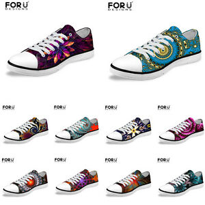Womens-Mens-Casual-Sneakers-Low-Top-Canvas-Fitness-Shoes-Lightweight-Trainers