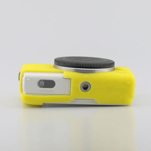 Cuerpo suave silicona goma funda piel protectora Bolsa para Canon EOS M100 Nuevo