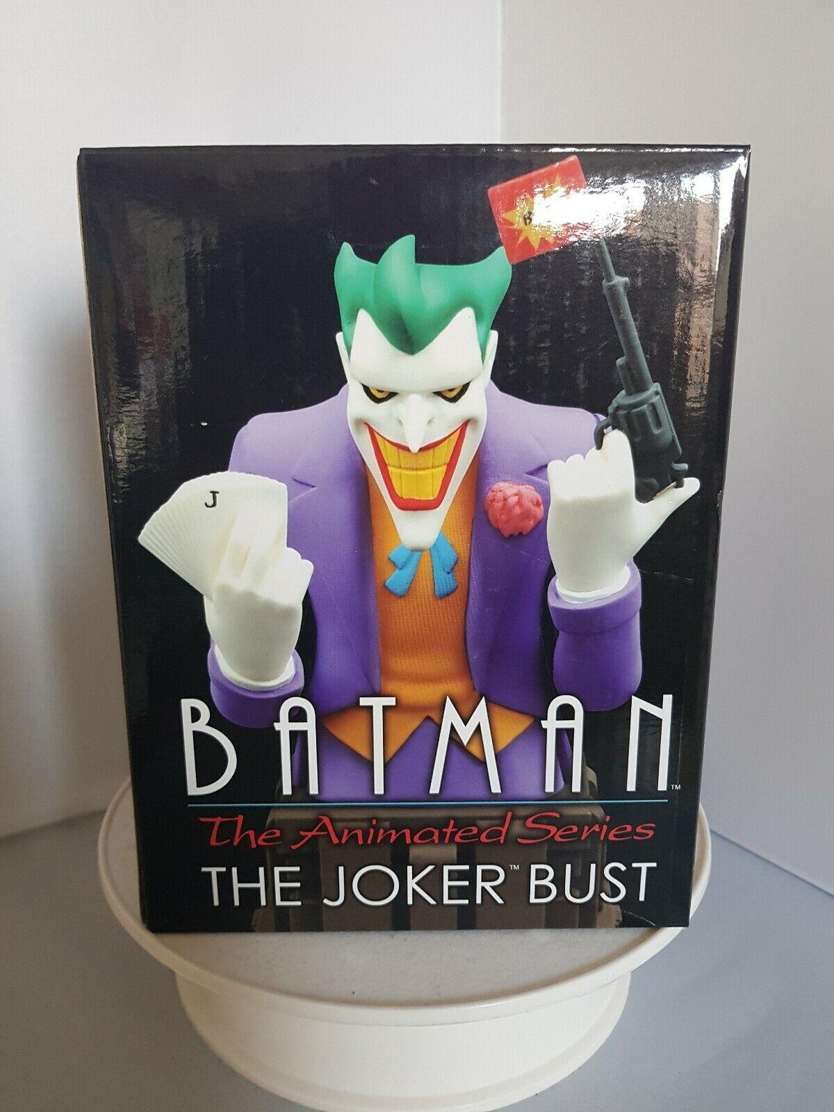 DC Comics NOV152178 Batuomo La serie animata Il Joker autobusto in resina