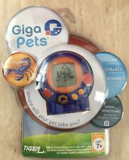 NIP Tiger Games Giga Pets Hand Held Game Scorpion NICE-Kids Toy Electronic Fun