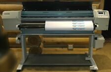 Hewlett Packard Designjet Hp3500cp 54 Wide Printer Used Needs Heads Cleaned