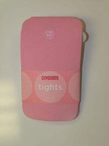 GYMBOREE SEA PINK SOLID BASIC TIGHTS 3 4 5 7 8 10 NWT