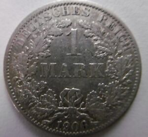 1906-1-Mark-Germany-silver-coin-German-empire