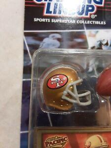 2000 STARTING LINEUP NFL ELITE JOE MONTANA W/ PACIFIC CARD SAN FRANCISCO 49ers