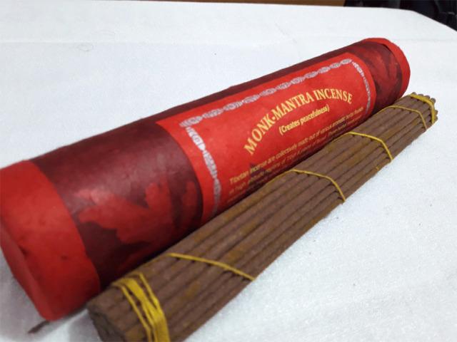 Monk-Mantra Medicinal Herbs Tibetan Incense Sticks ,Nepal