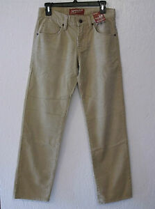 MENS ARIZONA JEAN CO. CLASSIC TAN CORDUROY PANTS SIZE 29x30(NWT ...
