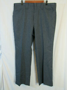 NWOT-Circle-S-Men-039-s-Western-Suit-Pants-Size-42-x-31-Gray-Made-in-USA-mint