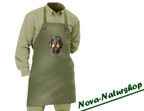 Rauhhaardackel Schürze Dackel .Hundeführer Kochschürze Jagdschürze