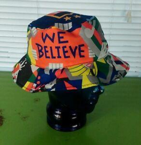 World Cup Soccer All over Print Bucket Hat Cap Microsoft Team USA ... 2e908dda2e93