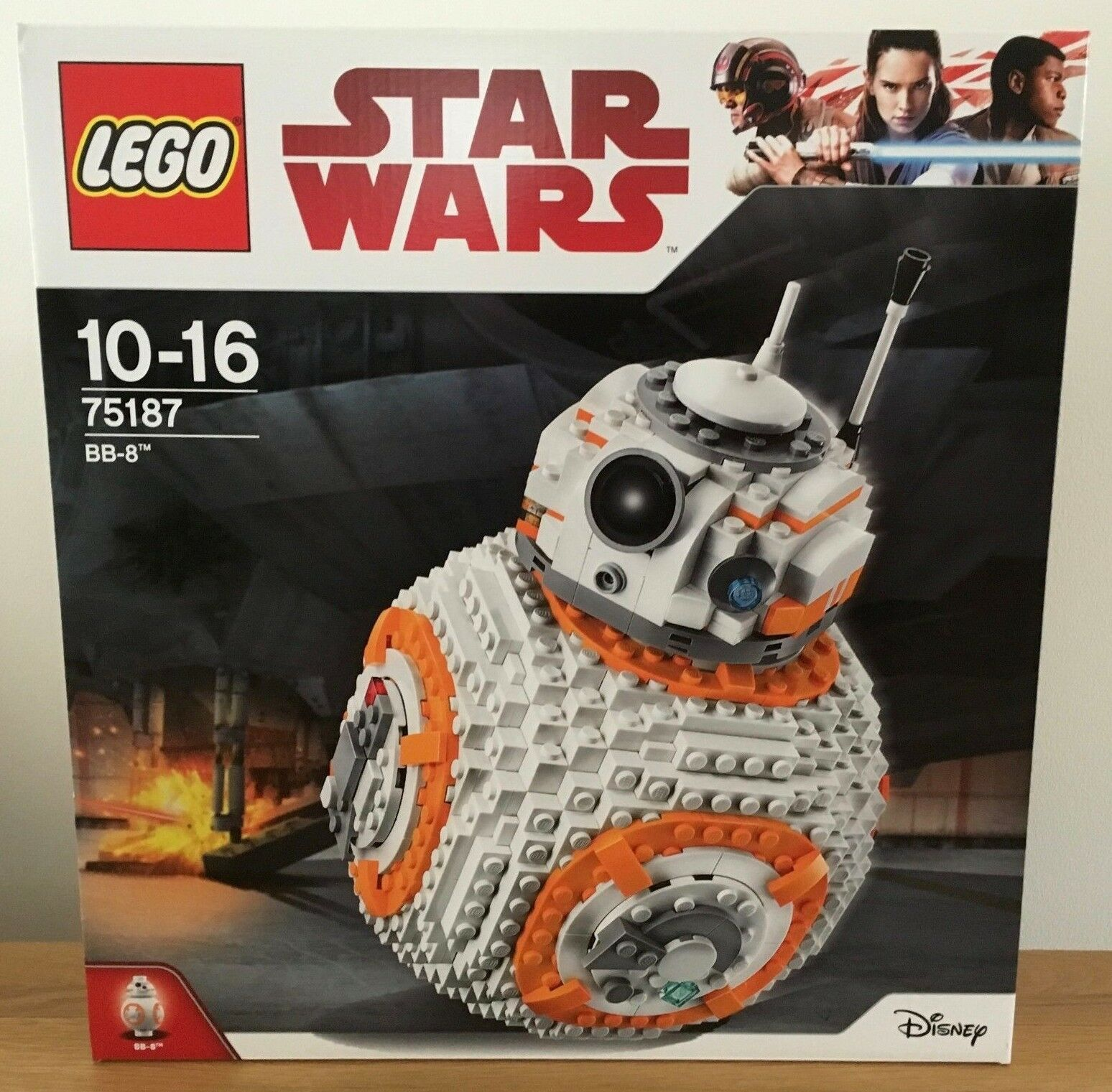 Lego Star Wars 75187 BB8 Brand New & Factory Sealed