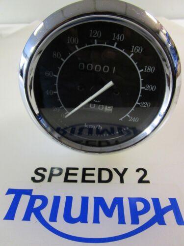 TRIUMPH TROPHY 900 CLOCK SPEEDO INSTRUMENT KM//H T2500272 1996-2003