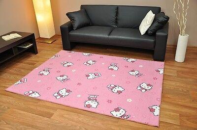 Kinderteppich Teppich Spielteppich Disney Hello Kitty versch. Größe s1