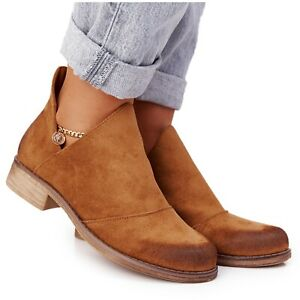 PS1 Women's boots with cut-outs from Camel Hillary brown