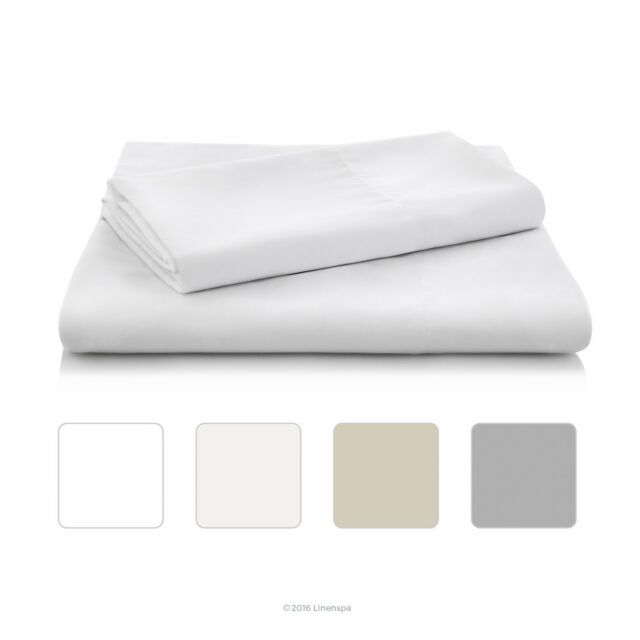 Linenspa Brushed Microfiber Ultra Soft Bed Sheet Set - Wrinkle Resistant - Ful..