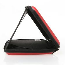 """Red 7in PU Leather Case Bag Stereo Sounder Speaker Cover for 7"""" inch Tablet PC"""