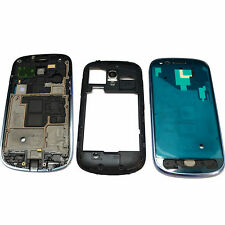 Blue Frame Chassis Cover Full Housing Door Case For Samsung Galaxy S3 Mini i8190